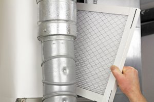 Air filter duct