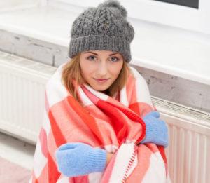 Woman Warm Blanket