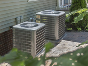 Air Conditioning Units Outside