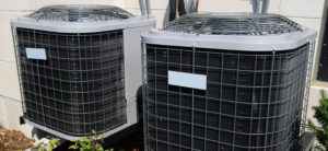 Air Conditioning Unit Outside AC