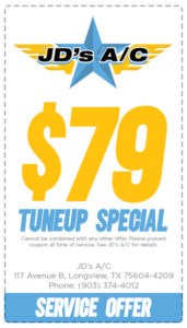 Special Offer Coupon Tuneup Service