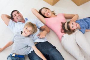Family Relaxing Floor