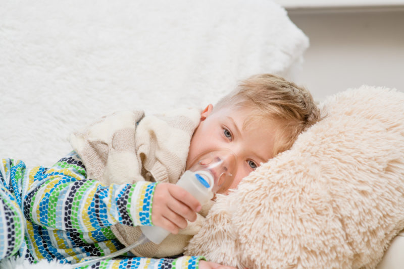 Child Asthma Breathing Machine