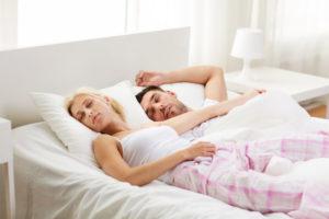 Couple Asleep Bed