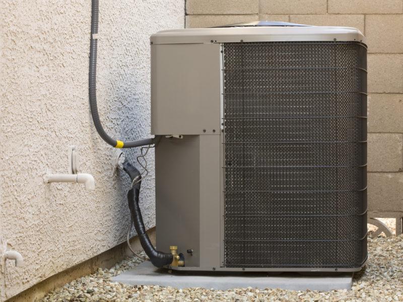 Heat Pump Outside