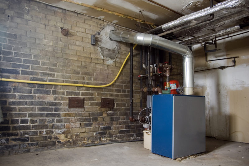 Heat Pump Basement